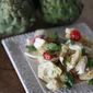 Caprese Pasta and Artichoke Salad