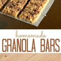 Homemade Granola Bars: No-Bake
