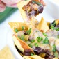 Game Day Vegetarian Chili Nachos + Giveaway