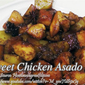 Sweet Chicken Asado with Potatoes