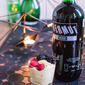 More fun with the iSi siphon: sabayon with mixed berries.