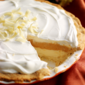 White Chocolate Pumpkin Cream Pie #Choctoberfest