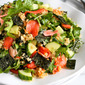Sushi Salad with Wasabi Soy Dressing Recipe