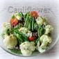 Cauliflower, Green Bean and Tomato Salad