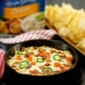 Cheesy Jalapeño Bacon Cheeseburger Dip #gametimedips