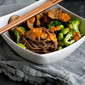 Soba Noodle Bowl Recipe with Vegetables & Peanut Sauce {Vegan}