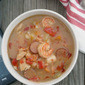 Chicken, Sausage, and Shrimp Gumbo inspired by #ThatWouldBeMe