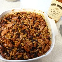 Spiked Baked Beans