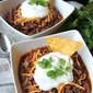 Easy 3 Ingredient Chili (Slow Cooker or Stove Top)