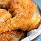 Buttermilk Ranch Oven Fried Chicken