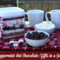 Peppermint Hot Chocolate {Gifts in a Jar} & Welcoming Friends & Family for the Hoidays