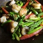 Asparagus Shrimp With Bell Pepper