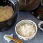 Perfect Japanese White Rice in 20 MINUTES!!! AKOMEYA TOKYO Original Arita Ware Kuroyu Clay Pot 有田焼 黒釉 (くろゆう) - Video Recipe