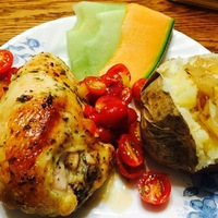 Tarragon Roasted Chicken