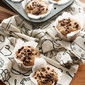 Catcher in the Rye: Pear and Rye Muffins with Dark Chocolate