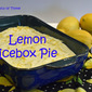 Lemon Icebox Pie - Blogger CLUE