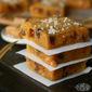 Pumpkin Caramel Sea Salt Blondies #bloggerCLUE