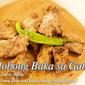 Beef Adobo in Coconut Milk (Adobong Baka sa Gata)