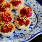 Mini Beet, Goat Cheese & Pistachio Phyllo Cups Recipe
