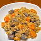 Butternut Squash and Sausage Risotto; foggy mornings