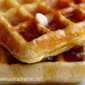 Buttermilk Waffles for Two