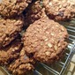 OATMEAL and DATE BUTTER nut cookie