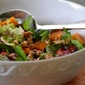 Persimmon and Pomegranate Salad with Honey-Sherry Vinaigrette