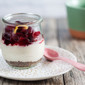 Dairy-Free Cranberry Cheesecake Parfaits