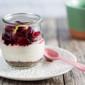 Dairy-Free Cranberry Cheesecake Parfaits