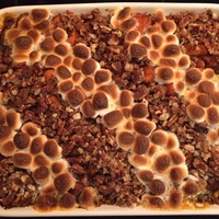 Spiced Yams with Ginger Pecan Streusel