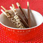 Homemade Pocky Chocolate Sticks - Video Recipe