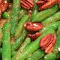 Green Beans With Pecans and Dijon Maple Sauce