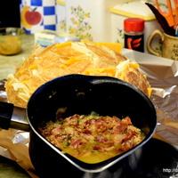 Bacon Cheese Garlic Bread