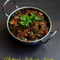 Chettinad Mushroom Masala/Chettinad Kaalan Curry