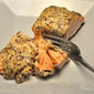Baked Salmon with Horseradish, Moroccan dishes