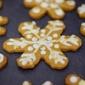 Gingerbread Snowflake Cookies #Cookielicious