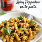 Spicy Peppadew pesto pasta