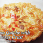 Tuna Quiche with Cracker Crust