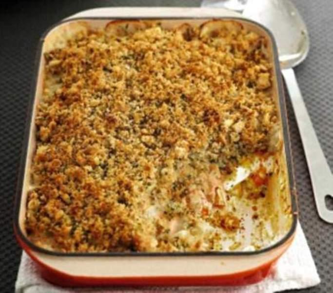 Tasty white fish casserole recipe by recipesn cookeatshare for Fish casserole recipes