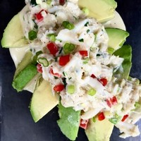 Creole Crab and Avocado Salad