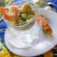 Festive Fish SEAFOOD salad