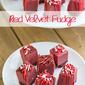Red Velvet Fudge Recipe | DIY Christmas Gift #SweetenTheSeason