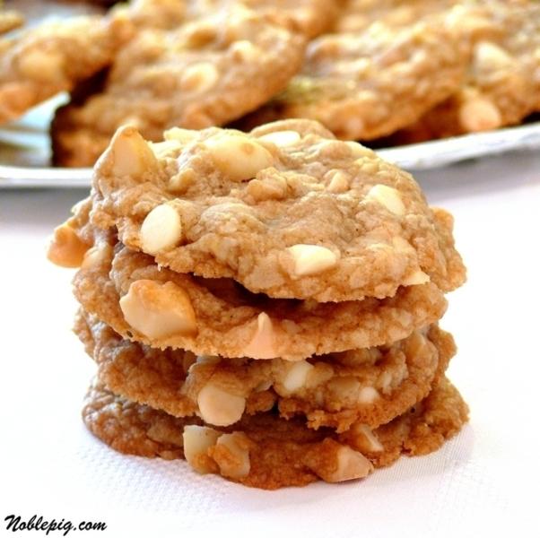 White chocolate macadamia nut cookies recipe by carol for White chocolate macadamia nut cookies recipe paula deen