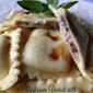 Mushroom Ravioli with Truffle Oil