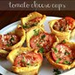Tomato Cheese Cups