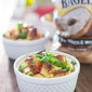 Bagel and Bacon Strata