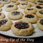 Quick and Easy Raspberry Thumbprint Cookies