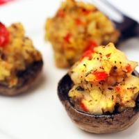 Gluten Free Crab Stuffed Mushrooms Appetizers {$75 VISA Gift Card Giveaway + Coupons!)