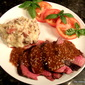 Beef Tenderloin with Garlic Sherry Sauce