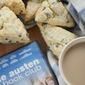 Orange Currant Scones inspired by The Jane Austen Book Club   #FoodnFlix